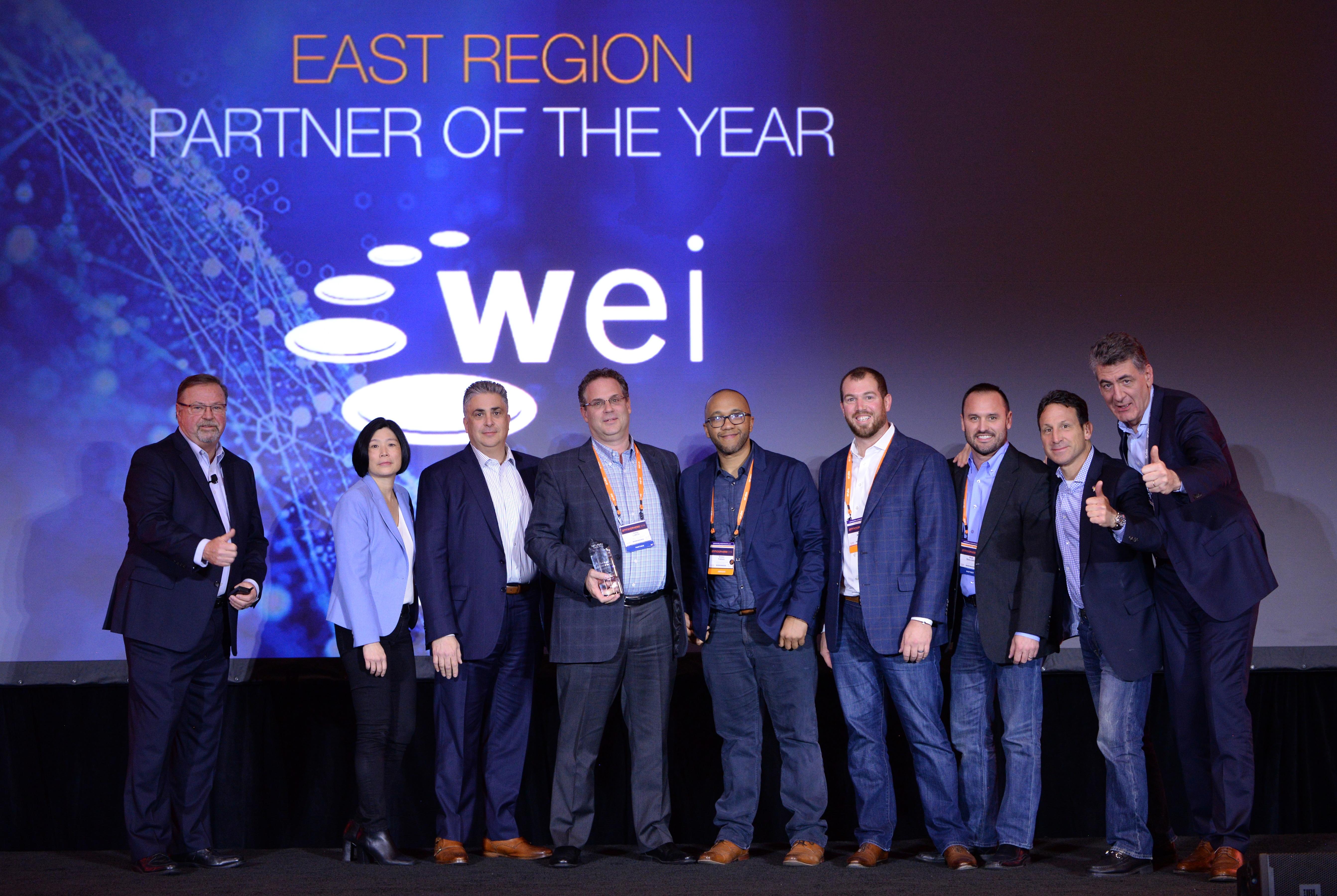 WEI is Aruba Partner of Year East Region