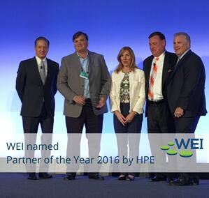 HPE Partner of the Year WEI