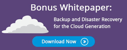 White paper: Backup and Disaster Recovery for the Cloud Gneration