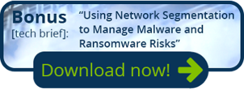 Bonus tech brief - Using network segmentation to manage malware and ransomware risks